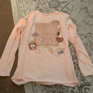Big girls long sleeve shirt
